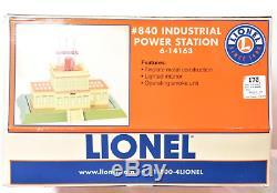 Lionel 14163 Standard Gauge 840 Power Station Lights and smoke