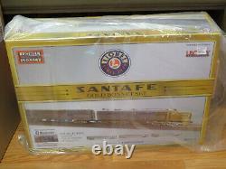 Lionel 1922040 Santa Fe Gold Bonnet Passenger Set, O Gauge NIB