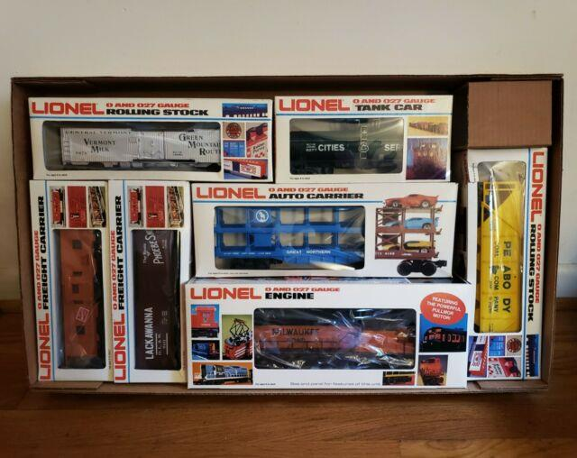 Lionel 1978 Milwaukee Road Limited Edition O Gauge Scale Train Set 6-1867 In Box