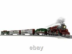 Lionel 2023080 Christmas Light Express Lionchief O Gauge Train Set with Bluetooth