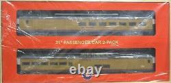 Lionel 2027230 UP 21' Excursion Expansion Pack #3 Passenger 2-Pack Set O Gauge