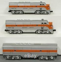 Lionel 2345 O Gauge Western Pacific F3 ABA Diesel Locomotive Set E. Welz EX