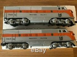 Lionel 2355 Western Pacific F3 Aa Diesels O Gauge