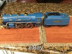 Lionel 390E Standard Gauge Blue Comet Colors