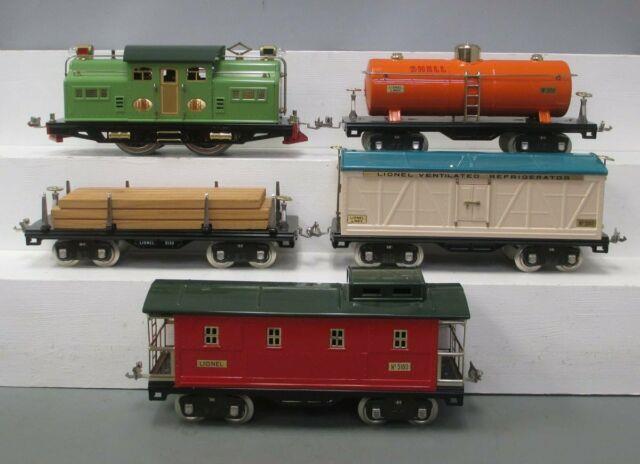 Lionel 6-13001 Standard Gauge 318 Electric 500 Series Freight Set/box