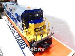 Lionel 6-18215 CSX Dash 8 40-C Diesel w Dual Pullmor Motors-O gauge-Never Run