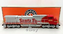 Lionel 6-18258 Santa Fe Dash-9 Diesel Engine O Gauge 5545