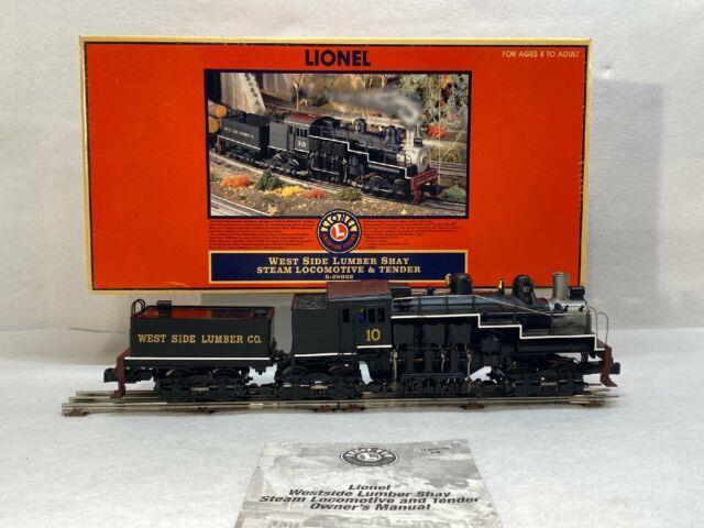 Lionel 6-28022 #10 West Side Lumber Shay Steam Engine & Tender Used O Gauge Tmcc