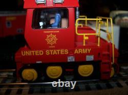 Lionel 6-28466 US ARMY Trackmobile MIB/New O Gauge K-Line MTH military