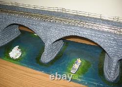 Lionel 6-37816 Rockville Bridge O Gauge Scale Train Layout Accessory Structure
