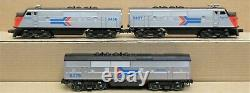Lionel 6-8466/67/75 Amtrak F3 PH 1 ABA Power/Dummy Diesel Engine Set O-Gauge EX
