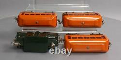 Lionel 96 O Gauge Prewar Passenger Set 153, 603, 603, 604/Box