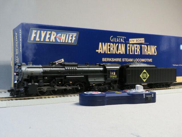 Lionel American Flyer Erie Flyerchief Plus Engine & Tender S Gauge 6-44024 New