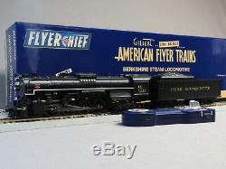 Lionel American Flyer Pm Flyerchief Plus Engine & Tender S Gauge 6-44022 New