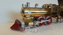 Lionel Classics Standard Gauge 6-13104 BRASS 7E Steam Engine W OB