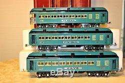 Lionel Classics Standard Gauge Blue Comet Passenger set 1420,1421,1422 TESTED