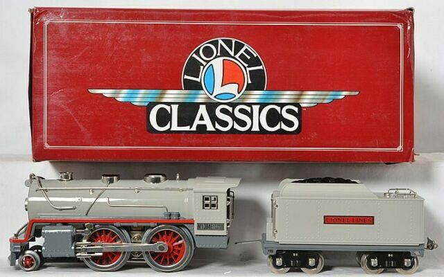 Lionel Classics Standard Gauge Tinplate 384e Steam Engine & Tender 6-13101 New