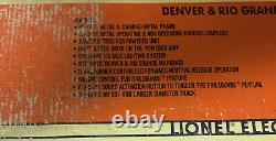 Lionel Denver & Rio Grande Pa-1 Aba Diesel Engine Set 6-18107! D&rg O Gauge