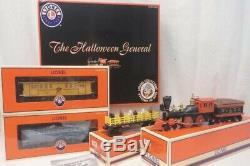 Lionel Lcca Halloween General Freight Set 6-52300 New! O Gauge Steam Engine