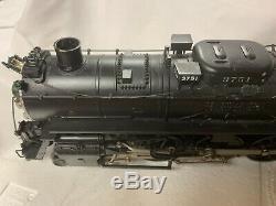 Lionel Legacy 6-11332 Santa Fe Northern 4-8-4 Steam Engine For Mth Train O Gauge