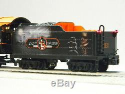 Lionel Legacy Halloween Pacific Steam Engine & Tender #1031 O Gauge 6-85175 New
