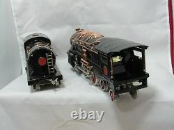 Lionel Mth 400e Standard Gauge Steam Locomotive Black Contemporary #10-1060 Ob