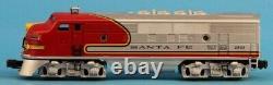 Lionel O Gauge 2343 Santa FE F-3 A Diesel Locomotive Engine #6-18128U