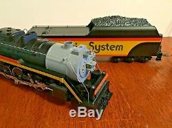 Lionel O Gauge 3-Rail Chessie System T-1 4-8-4 Diecast Steam Locomotive 6-18011