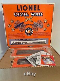 Lionel O-Gauge 6-21901 Civil War Confederate Train Set