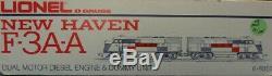 Lionel O Gauge New Haven NH #8852 #8851 F-3AA Locomotive Dummy Engine #6-8851U