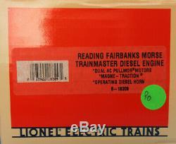 Lionel O Gauge Reading #863 Fairbanks Morse Trainmaster Diesel Engine #6-18309U