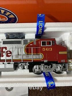 Lionel O Gauge Santa Fe Legacy Non-powered Dash 8-40bw Diesel #563 Pre-owned