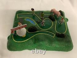 Lionel Operating Mini Golf Accessory 6-14214! O Gauge Animated Train Miniature