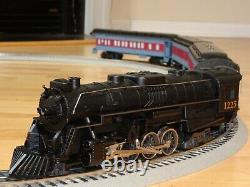Lionel Polar Express 1225 Train Set 0-Gauge Black Die Cast Engine EXCELLENT