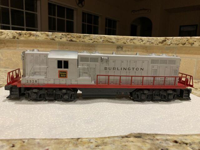 Lionel Postwar O Gauge 2328 Burlington Route Gp7