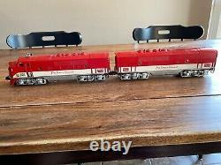 Lionel Postwar O Gauge F3 AB Units 2245 Texas Special Locomotive