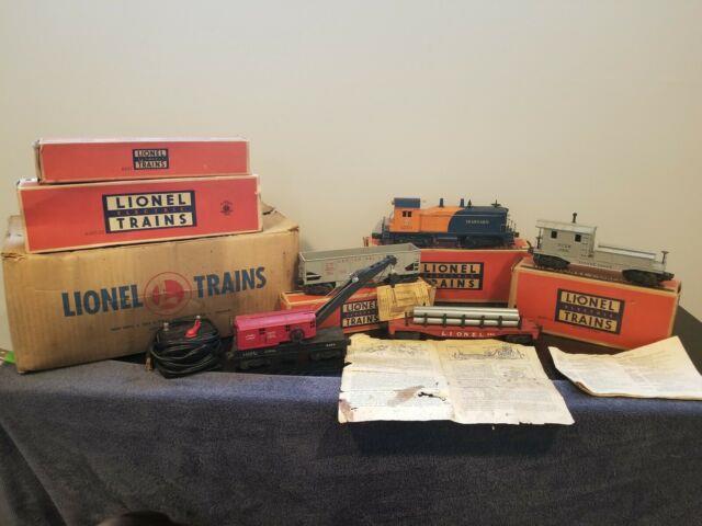 Lionel Postwar O Gauge Freight Set No. 1523 With Original Boxes