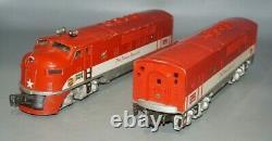 Lionel Postwar O-gauge Texas Special #2245 F3 Ab Diesel Engine Train Mkt Frisco