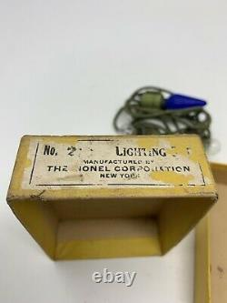 Lionel Prewar Lighting Kit 217 RARE BOX Complete Standard Gauge Corporation L10