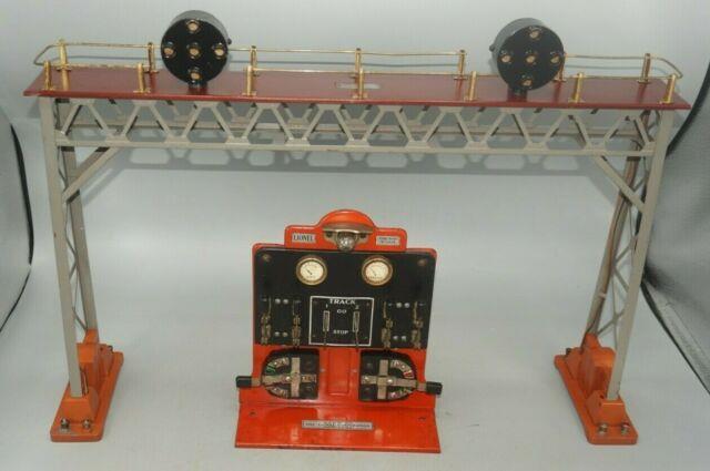 Lionel Prewar Standard Gauge 0440 Position Signal Bridge With 440c Panel Board