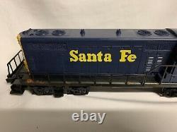 Lionel Santa Fe Gp-7 Diesel Engine 6-8263! For O Gauge Train Blue Yellow Atsf