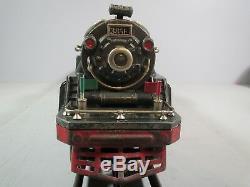 Lionel Standard Gauge #385E Steam Locomotive & Tender with Sound IN GUN METAL