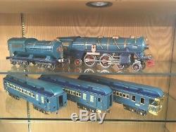 Lionel Standard Gauge 400E Blue Comet Set 1932 Well Used