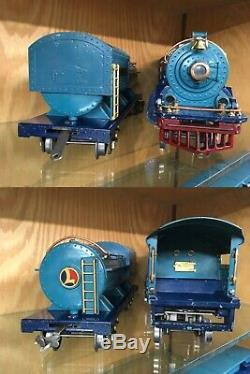 Lionel Standard Gauge 400E Blue Comet Set c. 1931 Ex+