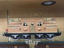 Lionel Standard Gauge 400E Brown State Set with 408E, 412, 413, 414, 416 EX-EX+