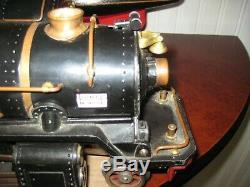 Lionel Standard Gauge 400E Early Black (810)