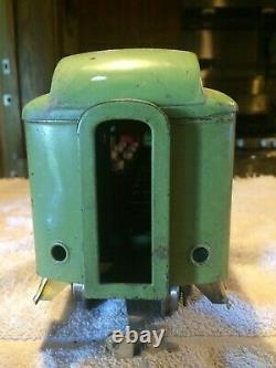 Lionel Standard Gauge #431 Dining Car APPLE GREEN RARE MUST S33