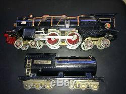 Lionel Standard Gauge Black 400E And 400T steam Locomotive SHARP SET