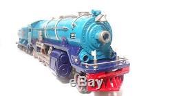 Lionel Standard Gauge I-400-E Blue Comet Steam Locomotive & Tender 6-13103 READ