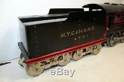 Lionel Standard Gauge Prewar #6 Engine & Tender Restored NICE